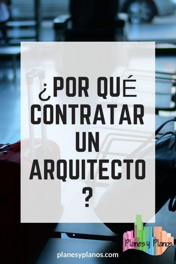 plano y mas importancia de un arquitecto