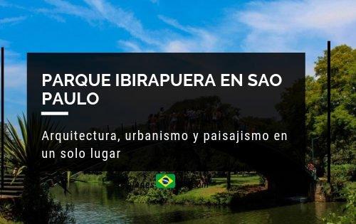 Parque Ibirapuera en Sao Paulo