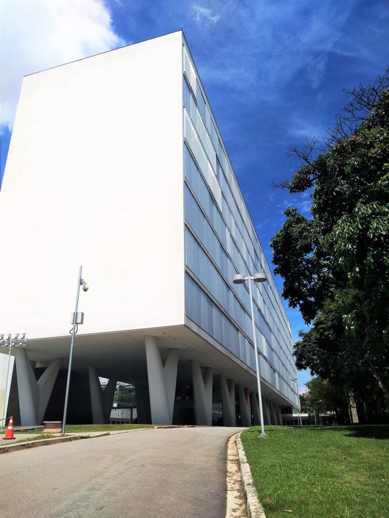 Museo de arte contemporáneo de Oscar Niemeyer, recorrido de arquitectura