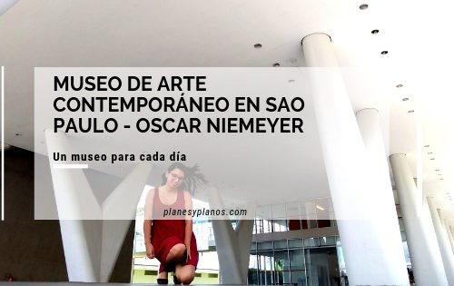 museo de arte contemporaneo en sao paulo arquitecto oscar niemeyer , reccorido de arquitectura, un museo para cada día.